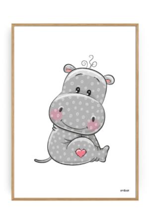 Flodhäst-Barnposter