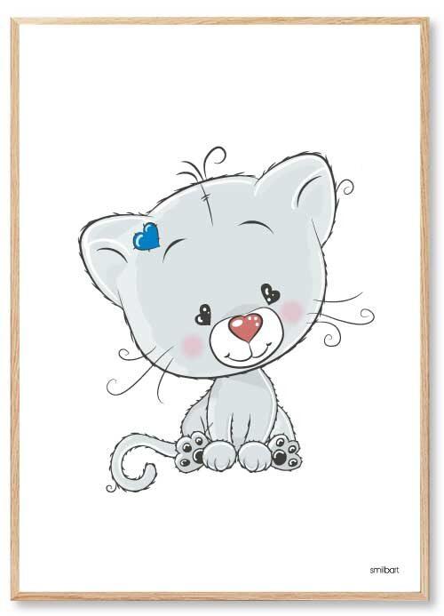 Barnposters Cat Barntavlor