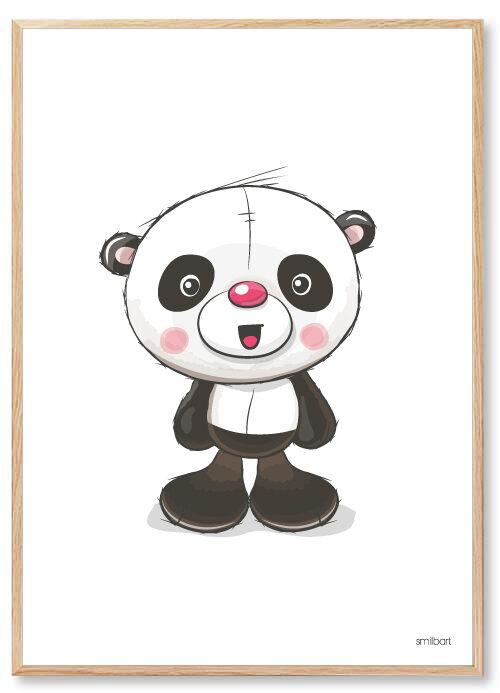 Barnposters Panda Barntavlor