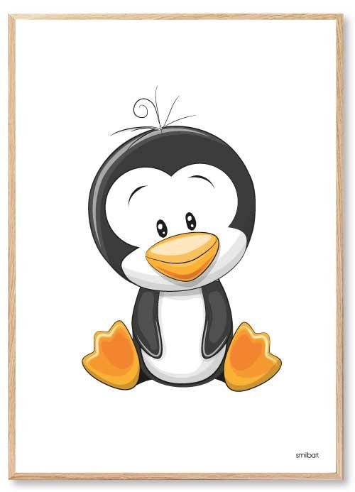 Barnposters Penguin Barntavlor