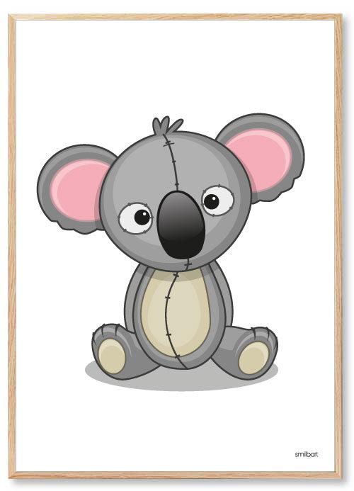 Barnposter-Koala-Barntavlor