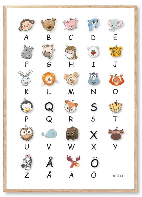 Alfabet-Poster