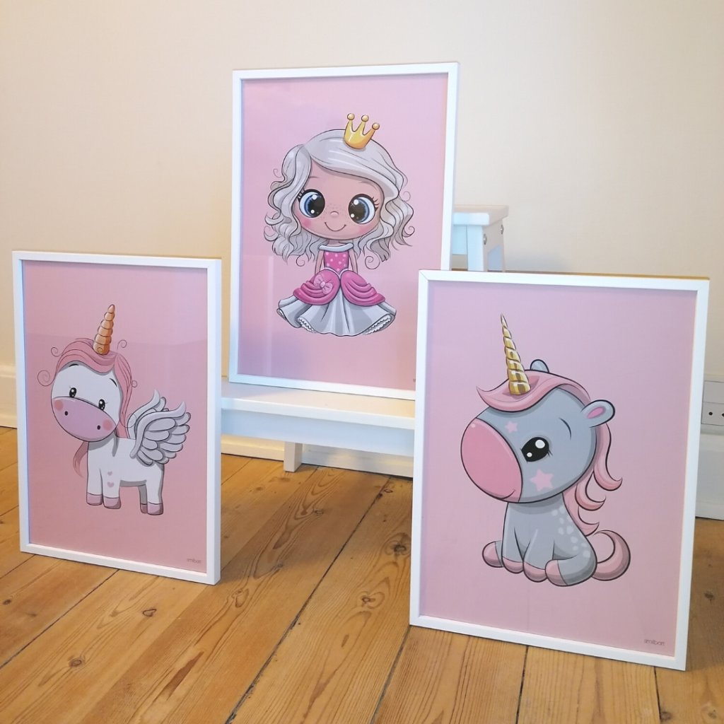 Princess Unicorn Poster